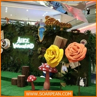 Fantastic Flower Display Fiberglass Advertising Props
