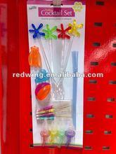Plastic Bar Cocktail Set