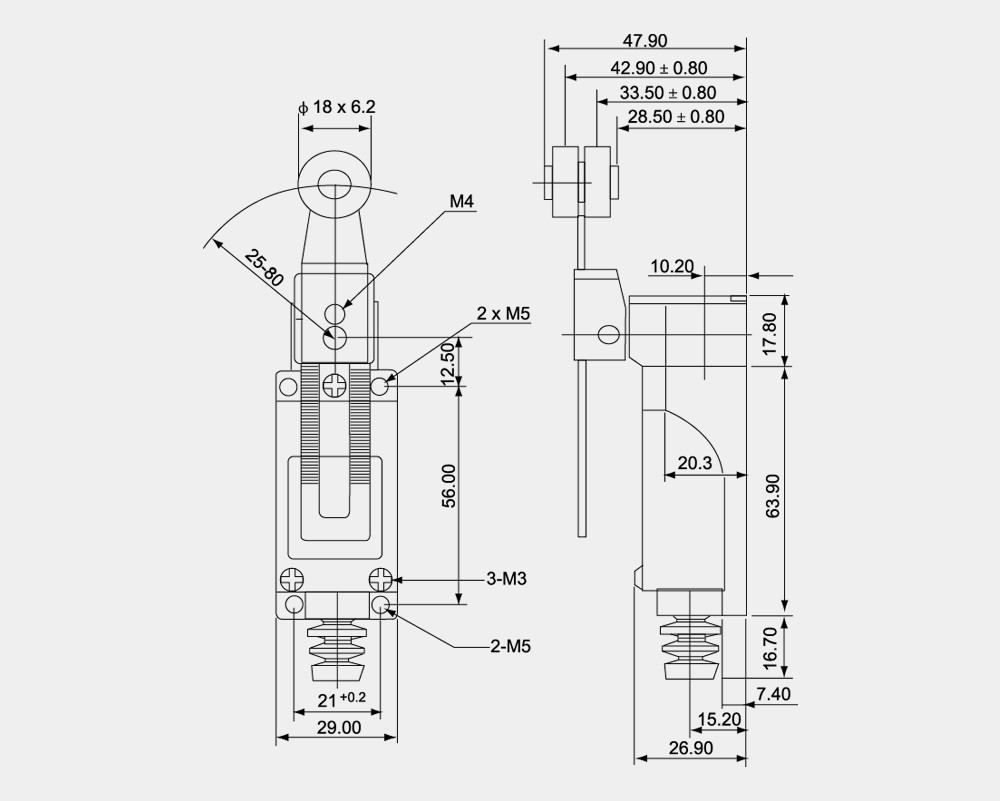 Electrical Limit Switches Wiring Further Cnc On Honeywell Micro Switch Iec Mini Series China Supplier Types 1000x801