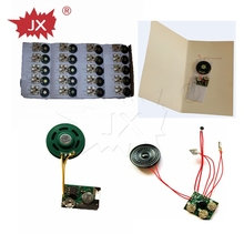 Customized long duration time programmable musical chips for greeting card