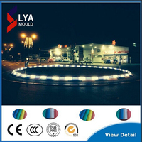5 years guarantee CREE/Epistar chip 100*100 IP67 waterproof RGB color changing frosted led paving stone lights led floor tiles