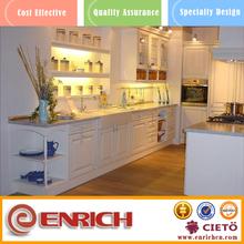 Gabinete de cocina del PVC puerta