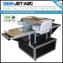 Multicolor Digital Inkjet Printer E PSON Flatbed Ceramic Tile Printer