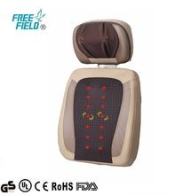 F-889, Nape Health Massage Open-back Mat (Coffee) , back massage vibrator, Massage Cushion