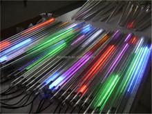 addressable led tube flash low voltage led meteor shower light christmas 3d smd3528 led meteor shower rain light