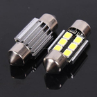 Venda quente DC9-30V 31 mm - 41 mm 6 smd 2835 canbus festoon lâmpadas led para carro truck luz led da placa de licença lâmpada