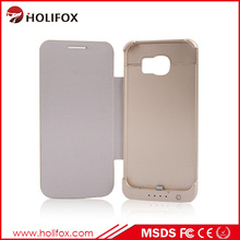 Rechargeable Battery Case For Samsung S6, External Rechargeable Power Case For S For Samsung S6 Mini Power Case