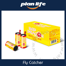 Yellow Sticky Fly Trap Paper Fly Catcher In Russian
