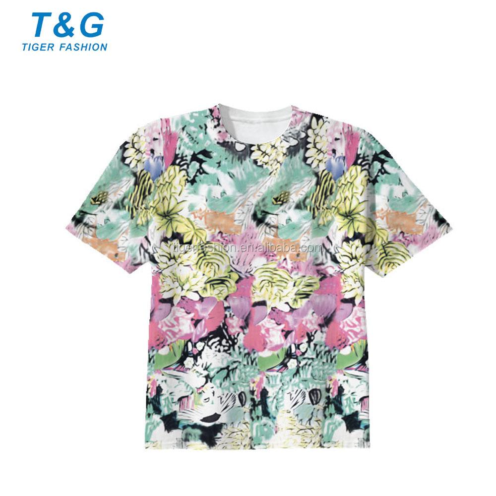 Custom Made Sports T Shirts Sublimation