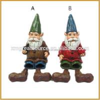 Resin material mini style handmade garden gnomes