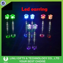 Popular Mini Party Led Stud Earrings Decoration