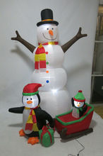 cheapest christmas inflatable figures new models