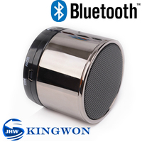Kingwon Wireless Portable Mini Speaker Bluetooth , 2014 HOT SALE speaker S10 can as dj music player, suported USB/TF/MP3/MP4