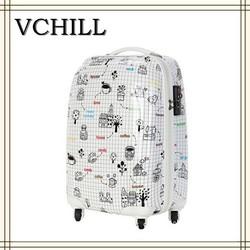 New cartoon print luggage 2015 Alibaba Hot cute luggage kids cartoon print luggage