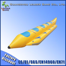 Summer water sports inflatable banana boat for sale