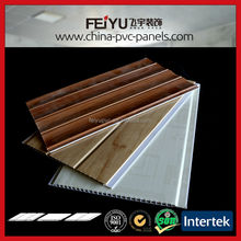 groove and tongue pvc top ceilings for interior decoration