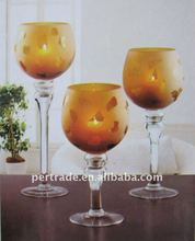 pumpkin candle holder set