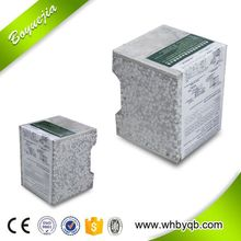 Lightweight and insulated wall panels office /hotel/hospital building waterproof fireproof eps cement block