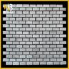 M032 Wooden Gray stone mosaic tile backsplashes for kitchen