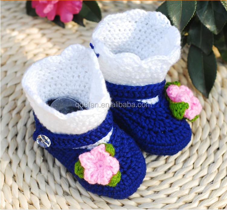 Crochet Baby Ballerinas Shoes Slippers Booties Crochet