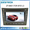 ZESTECH Wholesale gps navi head unit car gps navigation for BYD L3
