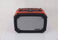 2015 Flashing LED Lighting Bluetooth Loud Bass Speaker with FM Radio