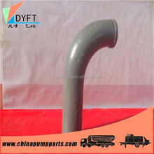 China direct concrete pump pipe elbows and other fittings cards
