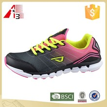fashion comfortable female running shoes