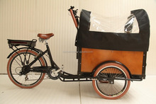 Denish style pedal assisted cargo bike electric bicycle conversion kit