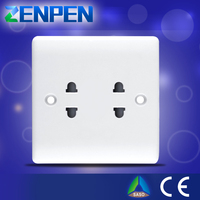 Factory wholesale new product 13A 2 gang outlet
