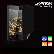 Free Sample HD Clear Korea Material Cell Phone PET Screen Protector For Nokia Lumia 430 520 625 1520