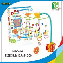 Newest baby bed mobile toy baby mobile remote control baby mobile musical mobile