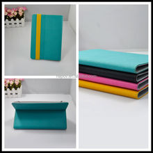 2014 New Manufacturer of Leather Case for Ipad, Customized by PU+Silicon Material
