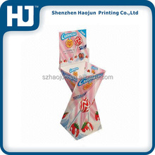 Unique design corrugated cardboard lollipop display best price used retail displays for sale