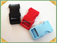 Colorful Contoured Side Release Plastic Buckles