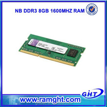 Brand new laptop ram memory 512mb*8 ddr3 8gb ram 1600mhz