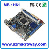 Intel Chipset H61 PC Mainboard WITH LGA1155 SUPPORT I3/I5/I7 processors Mainboard