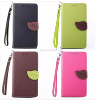 2015 New Case For Note 2 Leather Wallet Stand Flip Cover With Card Holders High Quality
