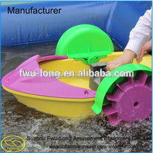 Low price high quality HDPE blow plastic handle boat for sale