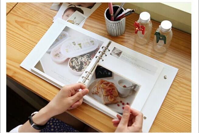 buy diy scrapbook album baby grow up diary diary handmade photo album christmas. Black Bedroom Furniture Sets. Home Design Ideas