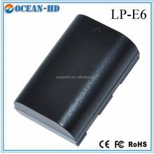 LP-E6 REAL capacity camera battery for Canon 60D 70D 5D 6D 7D