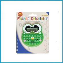 Mini Cute Cartoon Frog Pocket Calculator