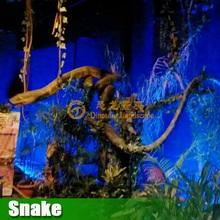 Silicone animatronic snake