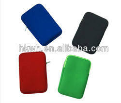 """Factory price waterproof neoprene laptop pouch for 7"""" tablet universal case"""