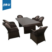 Fine appearance factory directly synthetic rattan outdoor furniture