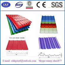 High quality Color coated sheet metal/corrugated galvanized sheet metal