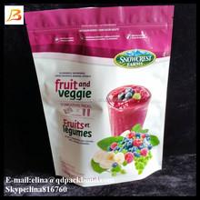 Flexible plastic food grade plastic frozen food packaging bags manufacturer