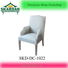 2015 Antiqe white dining chair arm chair