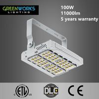 UL ETL approved 100W 10000lm led flood lights uk