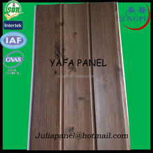 2015 PVC Ceiling(SGS Certificated) New Design Laminated Ceiling Panel Curve Panel PVC Step panel Direct Factory Haining Yafa